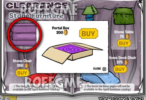 Club Penguin Better Igloos Furniture Catalog March-April 2010 Cheats