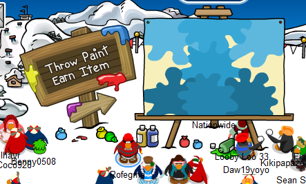 How to get the new (old) red propeller hat in the Club Penguin April Fool's Party.
