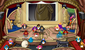 Penguin Play Awards in Club Penguin