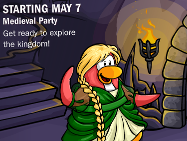 Club Penguin Medieval Party 2010 starting May 7
