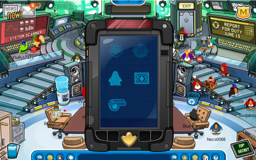 Club Penguin Elite Penguin Force EPF